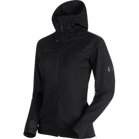 Mammut Ultimate V SO Hooded Jacket Women black-black